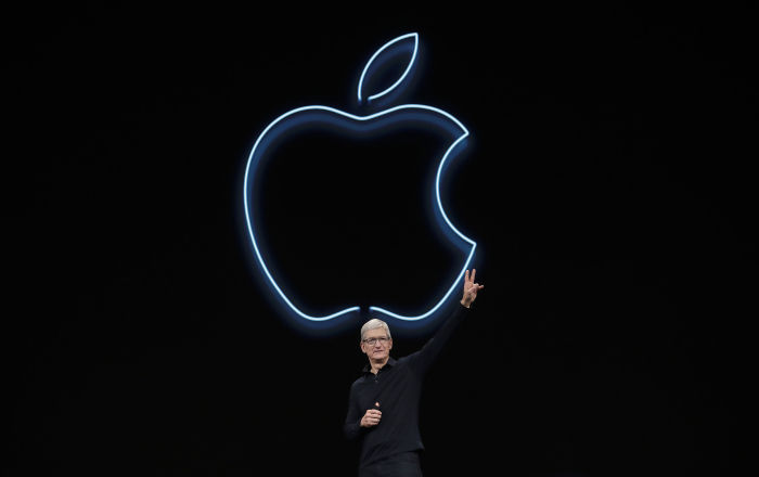 Президент Apple Тим Кук на конференции Worldwide Developers Conference 2019