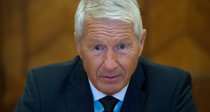Thorbjorn Jagland, the Secretary General of the Council of Europe