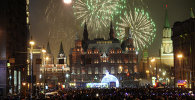 New Year celebration on Red Square
