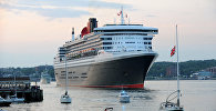 Океанский лайнер RMS Queen Mary 2