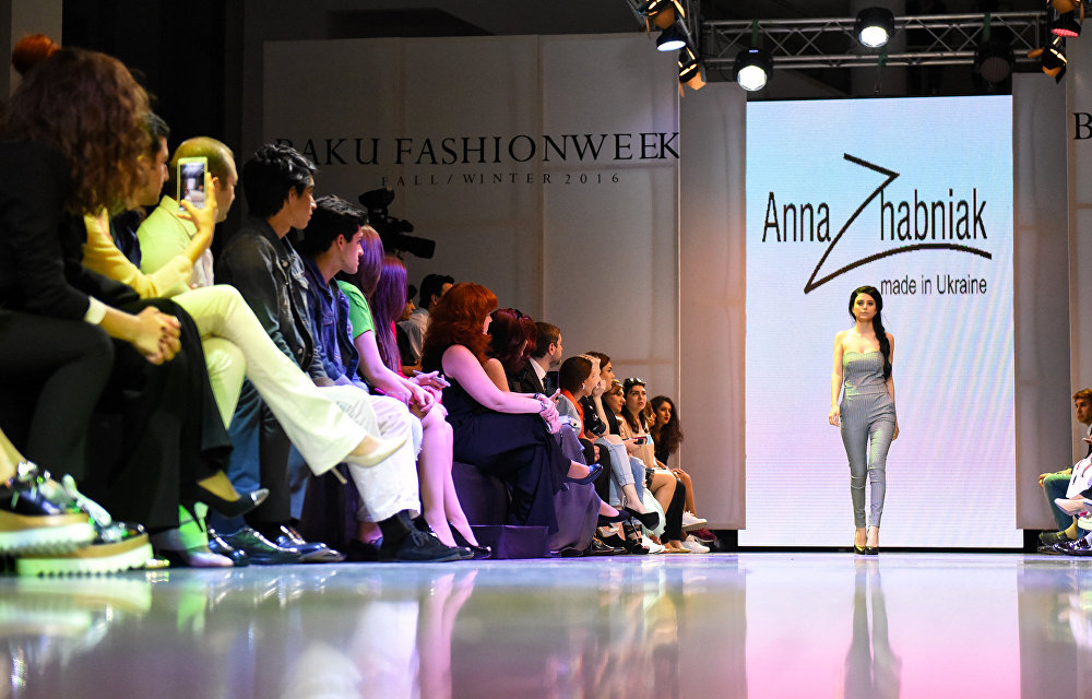 Открытие Baku Fashion Week 2016.