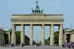 Berlin's landmark Brandenburg Gate
